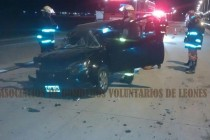 Accidente en la autopista