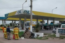 Accidente en Monte Buey