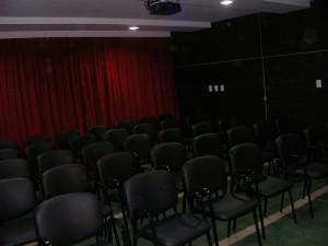 centro de jubilados cine