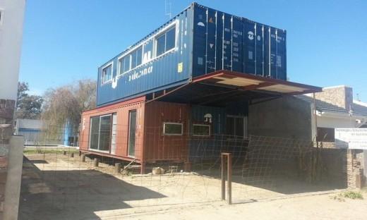 En san marcos sud una familia vive en una vivienda realizada con contenedores red panorama - Contenedores vivienda ...