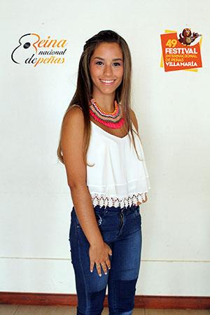 Por segunda vez consecutiva la reina del festival de Peñas es de Marcos Juárez.