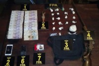Marcos Juárez: Un Detenido con 236 dosis de cocaina