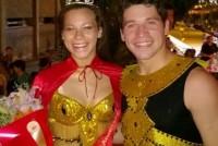 Carnavales 2016: Naiara Pereyra Espinosa y Carlos Pereyra fueron los elegidos