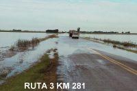 Cortes por turnos en la ruta 3 en el tramo Escalante- Canals