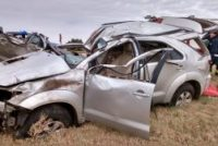 Falleció el hombre accidentado el sábado en momentos en que era trasladado por una ambulancia privada rumbo a Bell Ville