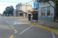 Se habilitó nueva parada de colectivo en calle Belgrano y Beiró