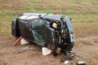 Cinco accidentes de tránsito en 48 horas en la autopista en el mismo lugar