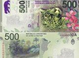 El Banco Central lanza los billetes de $ 500