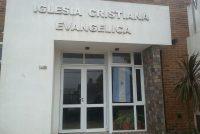 Robo en Iglesia evangélica ubicada en calle Bolivia y Pellegrini