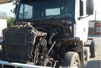 Secuestro de un camión abandonado en Cabo Bussano y Las Colonias que tenía pedido de secuestro de Policía Federal