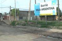 Inicio de obras en el predio barrio Villa Argentina del PROMUVI
