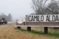Choque entre moto y pick up en Camilo Aldao con un joven en grave estado derivado a Marcos Juárez