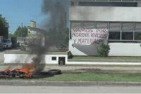 EPEC, asamblea con protesta en la vía pública