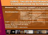Curso Taller de Restauración y conservación de patrimonio