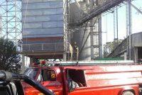 Bomberos actuó dos veces por principio de incendio en secadora de la Cooperativa General Paz