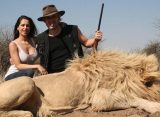 Filtran fotos de Victoria Vanucci y Matías Garfunkel matando leones