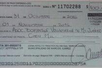 Reclamo de Bomberos por dinero destinado a Instituciones que es receptado por el Municipio