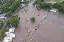 Arroyo Seco, una localidad bajo agua con la lluvia de 350 milímetros