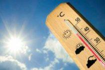 40 de sensación térmica el día sábado
