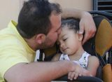Córdoba: Brianna, la niña que despertó luego de tres años en estado vegetativo