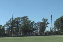 Iluminación para la cancha de fútbol del Club Argentino