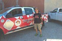 Incendios forestales: Bombero de Marcos Juárez forma parte de la Brigada Naranja que partió a Chile