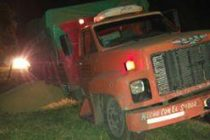 Accidente en ruta 9 en General Roca con un camión que perdió uno de sus neumáticos