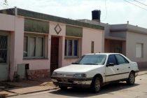 Incendio en vivienda de calle Cochabamba al 600 donde un joven debió ser hospitalizado
