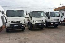 El intendente Dellarossa presentó nuevas unidades para el parque automotor