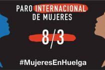 Marcos Juárez marcha por el Paro Internacional de Mujeres
