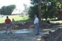Arreglo de baches en calle Juan B. Justo