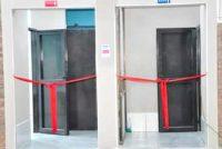 Inauguración de baños en el Club Villa Argentina