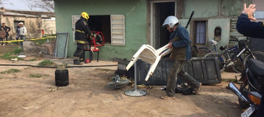 Bomberos Voluntarios de Córdoba realizará hoy un relevamiento en la vivienda incendiada donde falleció un joven de 14 años