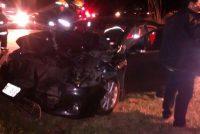 Accidente en autopista a la altura de General Roca que involucra al intendente de Isla Verde