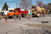 Arreglo de calle Urquiza y Santa Fe