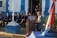 La visita del El Ministro de Gobierno Juan Carlos Massei