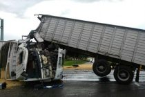 Accidente sobre Ruta Nacional 34
