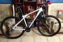 Policía recuperó bicicleta GT sustraída a Fazio