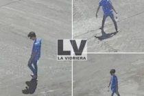 Buscan a joven de Leones que el sábado a media mañana protagonizó un accidente y escapó caminado del lugar