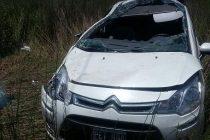 El intendente Roberto Arroyo de Saira asistió a una mujer de Marcos Juárez que sufrió un accidente