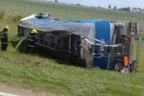 Corte total de ruta 34 por el vuelco de un camión cisterna que derramó combustible