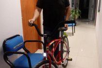 Ivan Allende fue el ganador de la bicicleta del especial de Año Nuevo