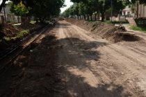 Inicio de obras en calle Ceballos desde General Paz hacia Rafael Núñez