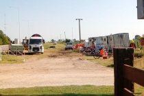 Construcción de gasoducto paralelo para suministrar gas para loteo de la Cooperativa General Paz