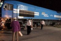 Jóven arrollado por un Tren en Leones