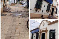Iniciativa de cobradoras del estacionamiento medido para restaurar edificio y vereda del Correo Argentino