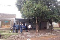 Incendio de una vivienda de calle Quintana y Laprida
