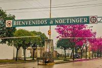 Histórico operativo en ruta 2 en Noetinger con la detención de maquinarias agrícolas