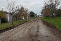 Calles, arreglos que no finalizan y el problema de las lluvias