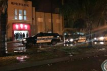 Presencia de Policía Federal frente a la Municipalidad de Marcos Juàrez